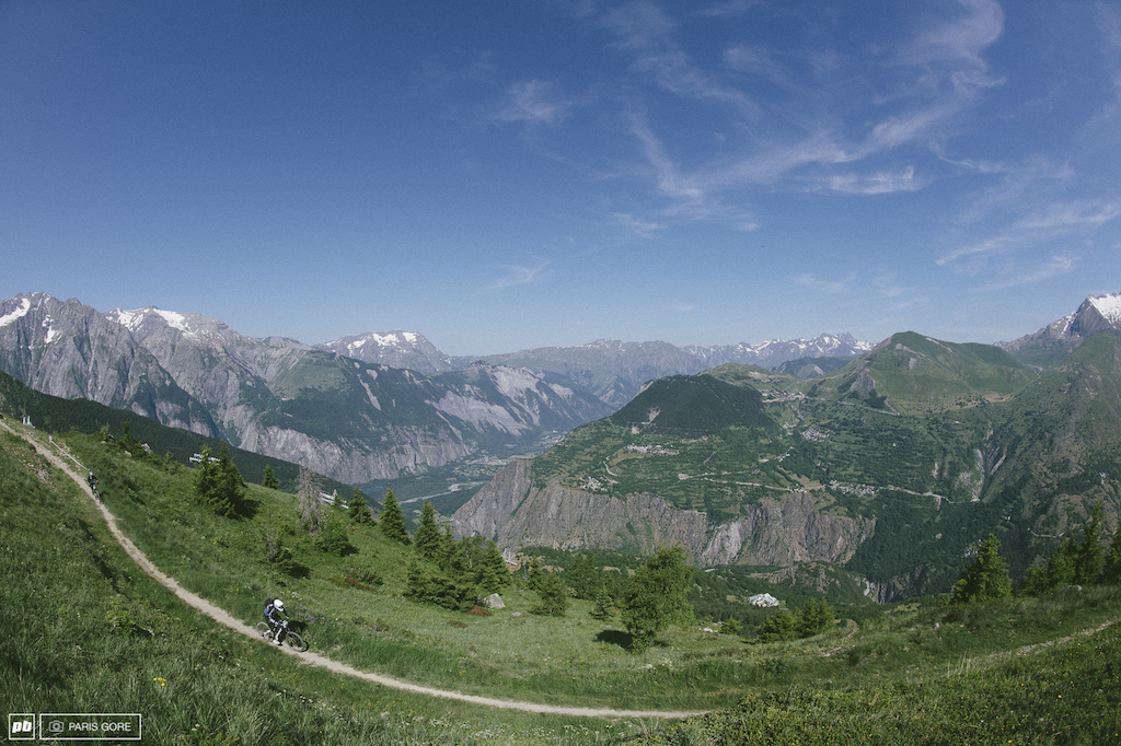The view doesn t get too old here deep in the French Alps.