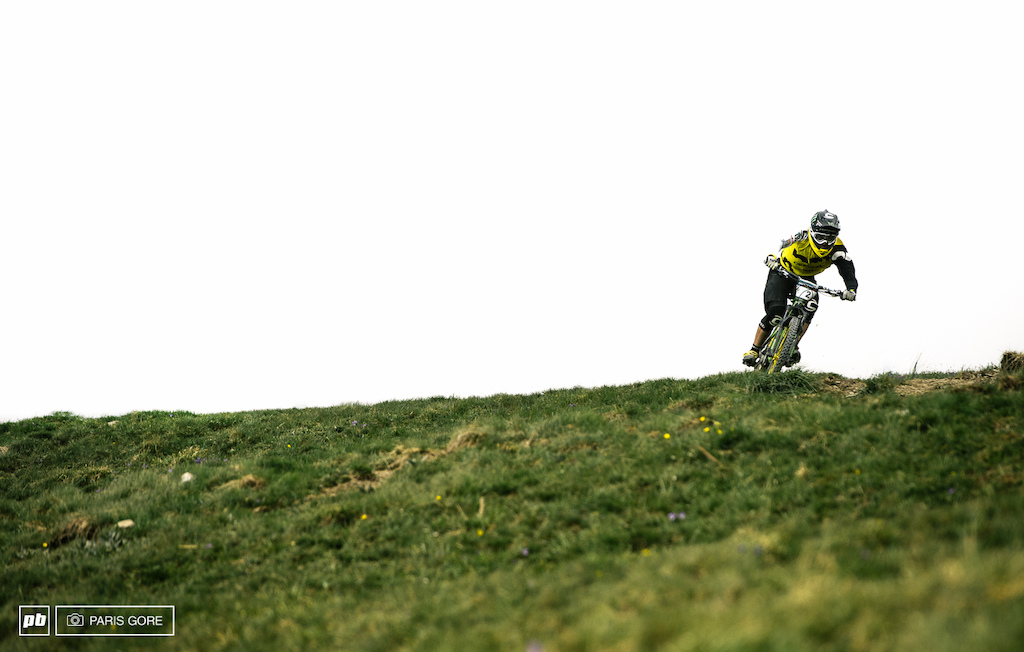 Jerome Clementz slashes his way into the last stage to take his win here at the third World Enduro Series.