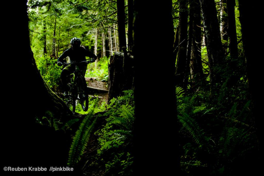 Sarah Leishman samples some of Vedder Mountain s finest dirt