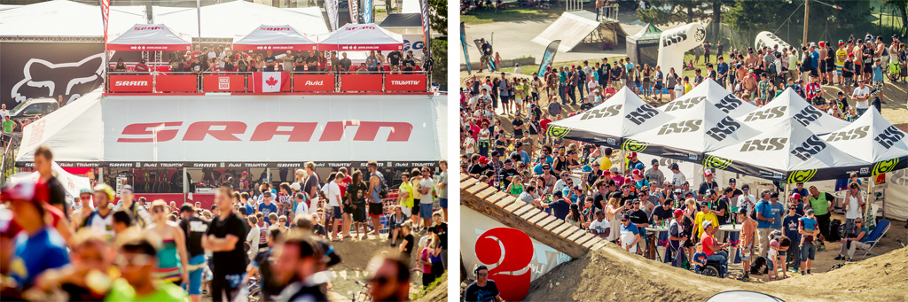 Crankworx drawing a record crowd this year - Laurence CE - www.laurence-ce.com