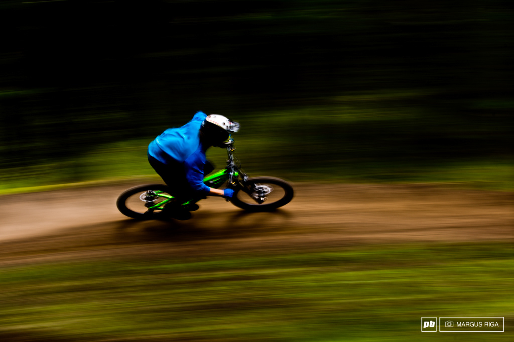 The trails on Mt. Harper are fast...really fast if you re Garett Buehler.