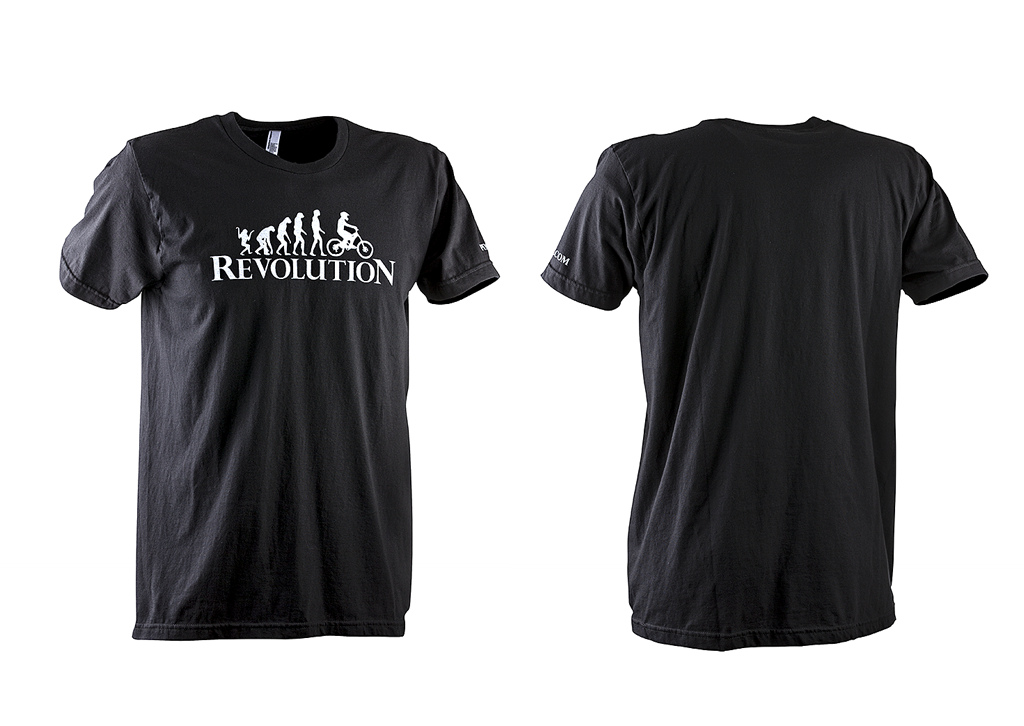 Pinkbike s Revolution T on American Apparel Shirts