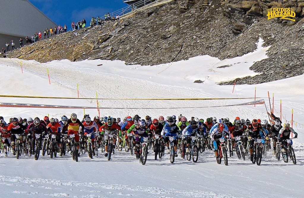 Megavalanche 2RX Cervinia - images courtesy of Dudes of Hazzard (Liam Moynihan)