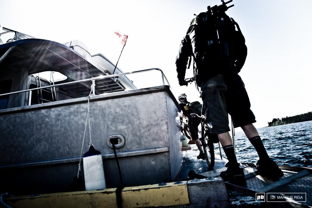 Water taxi. Alert Bay.