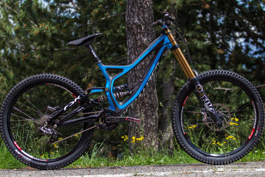 Aaron Gwin s Andorra bike.