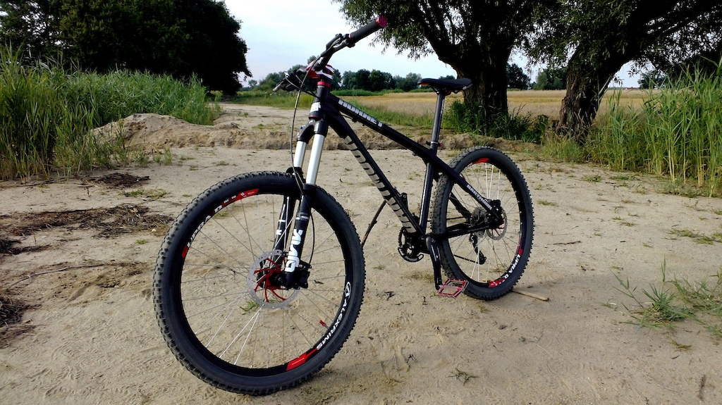 My Enduro bike setup in 2013. 