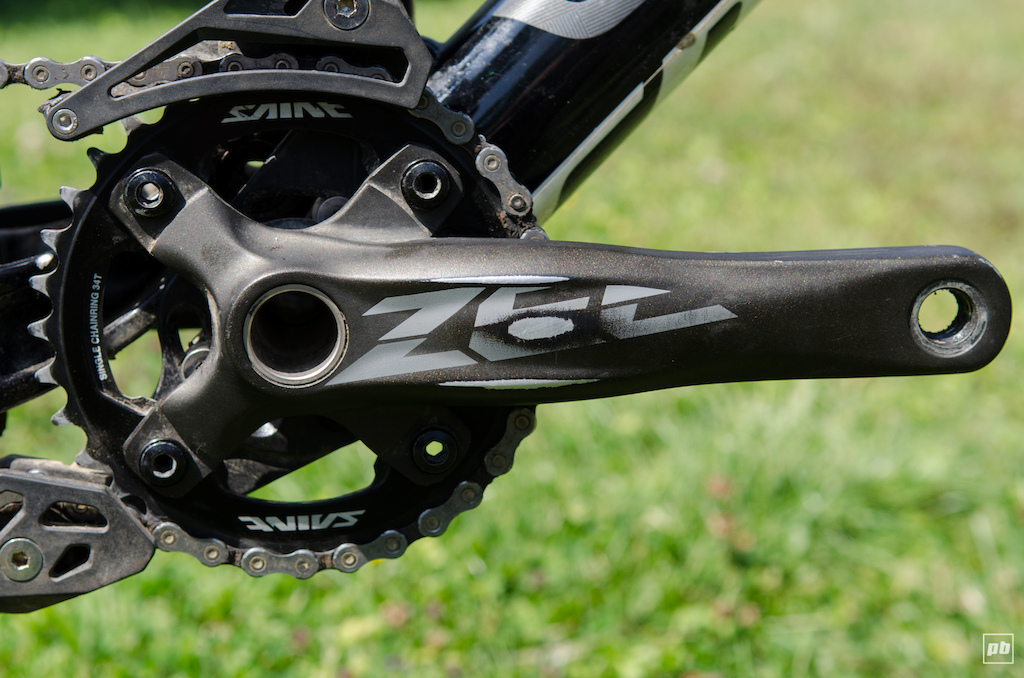 Shimano Zee crankset review test