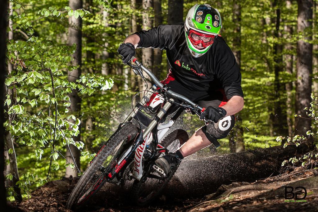 rider:Jost Zaman, location: Kalise, Zelezniki, Slovenia