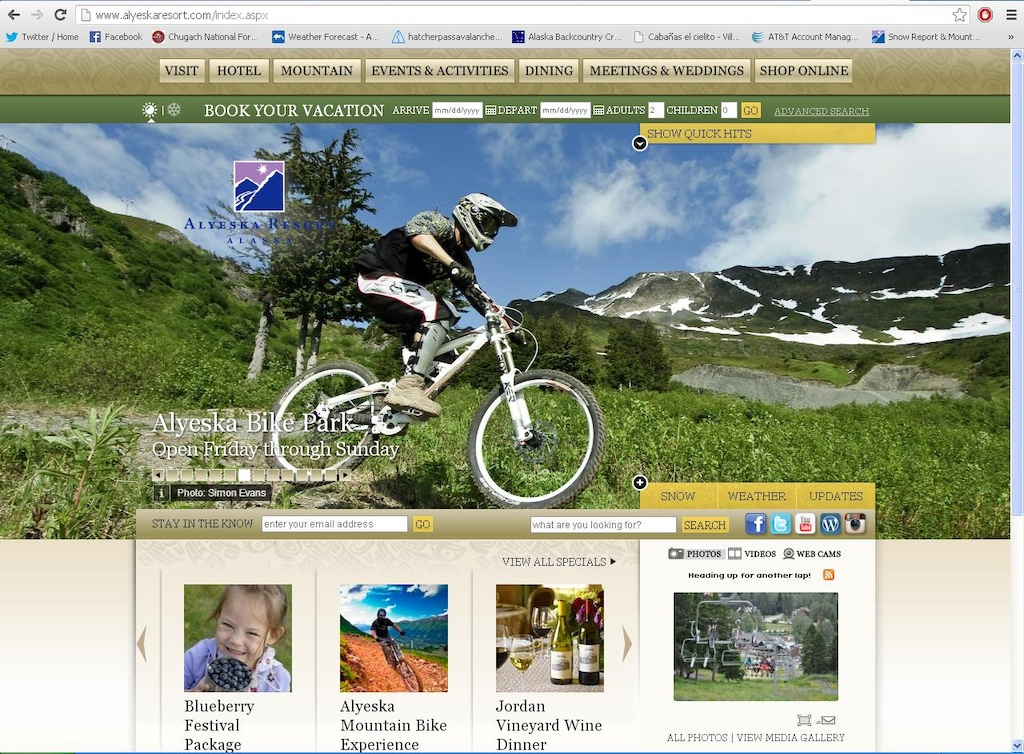 Alyeska Resort using a photo of Simon Evans that he took me riding.  I'm not receiving any money from this, but, a moment of fame.