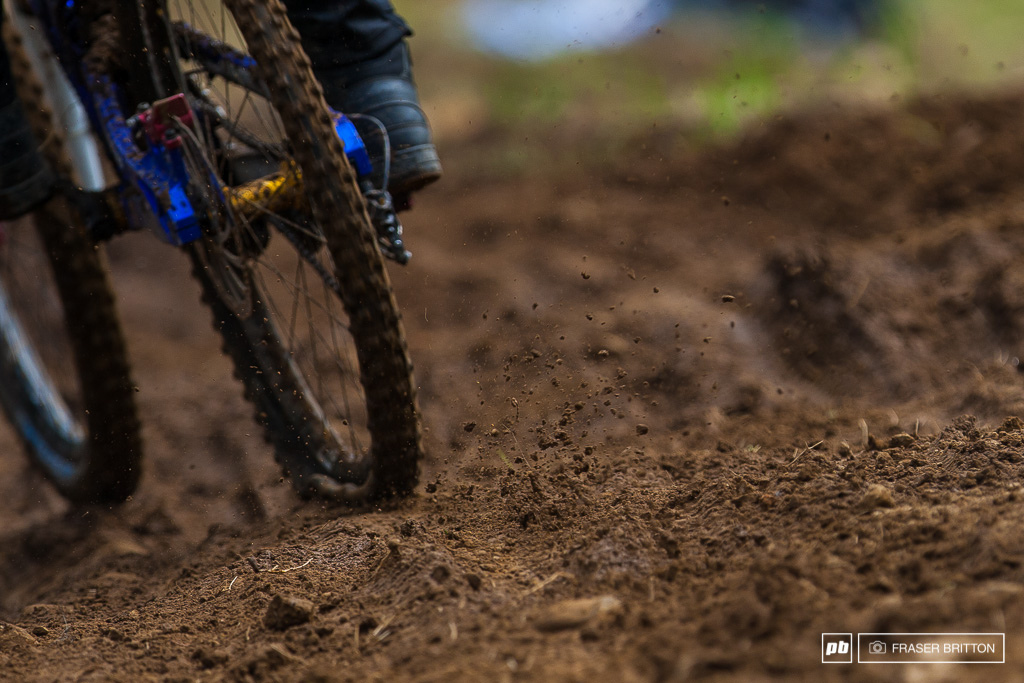 Flat tires and roost the story of the day.