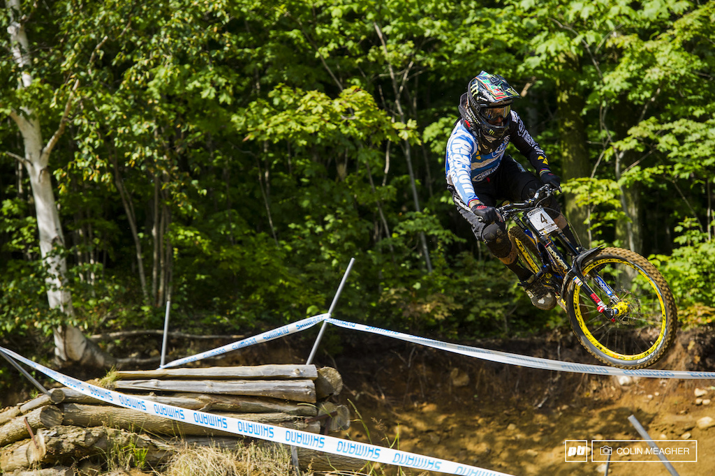 It ain t his BMX bike but Sam Hill is feeling it. He s won here before and with the momentum from Andorra Hill is out for blood.