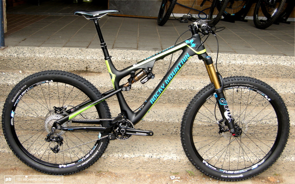 Crankworx 2013 Altitude 770 Rally Edition Best Bike At Rocky