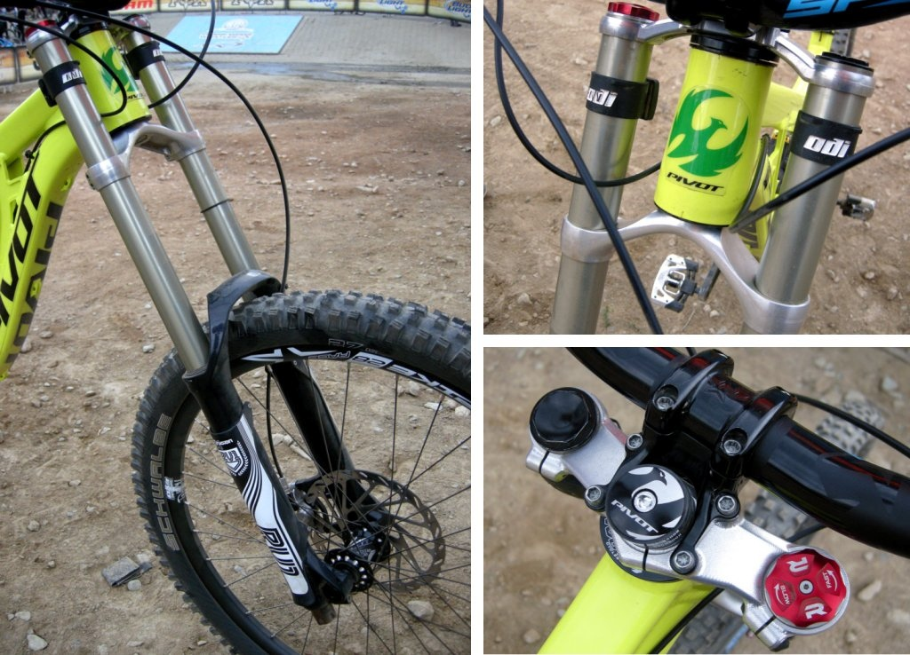 X-Fusion Prototype RV1 DH fork