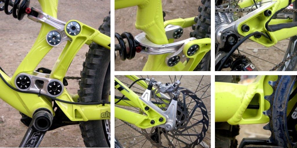 Pivot 2014 27.5 DH Racer details