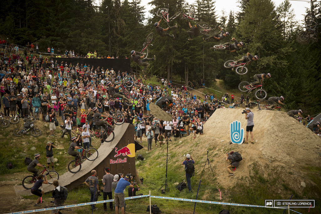 Yannick Granieri with backflip double whip for 2nd place at teva best trick 2013
