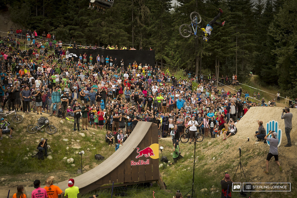 Cam McCaul with a backflip super seater to 4th place at Teva best trick 2013