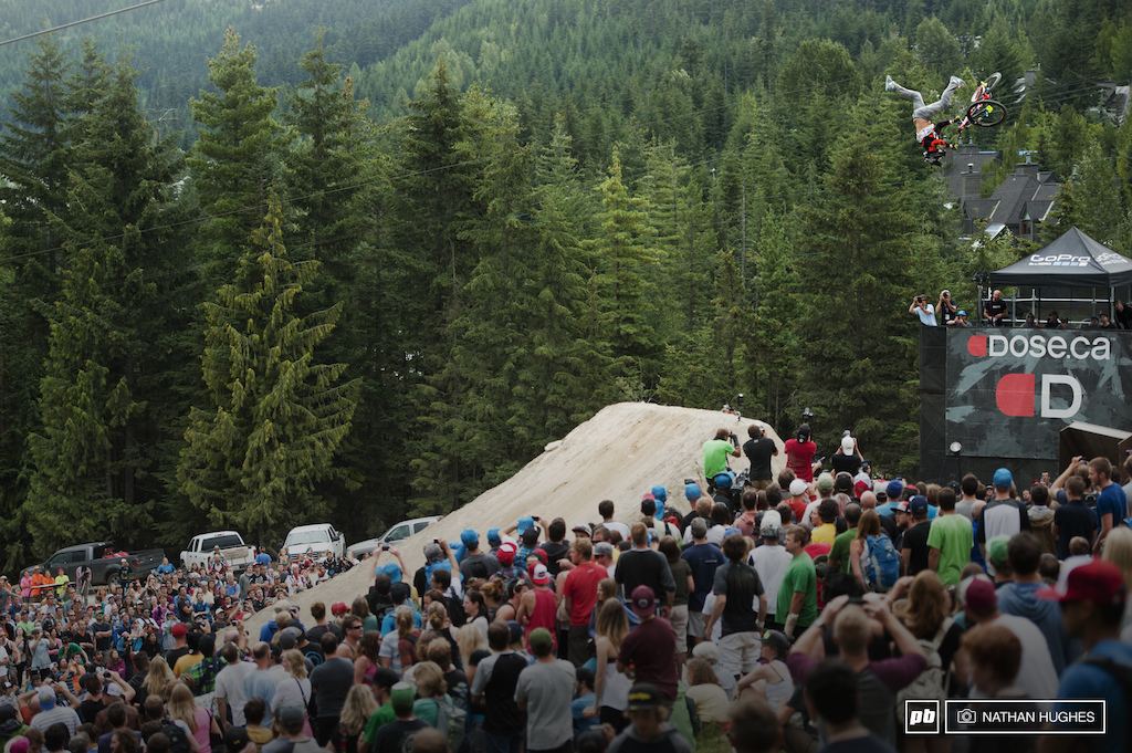 There a first time for everything...sasquatches and even backflip bar-hop to tailwhips like we saw today.