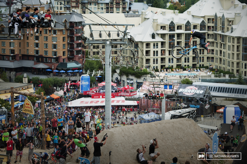 Iconic Whistler scenes featuring a rider who was just 7 years old when it all began.