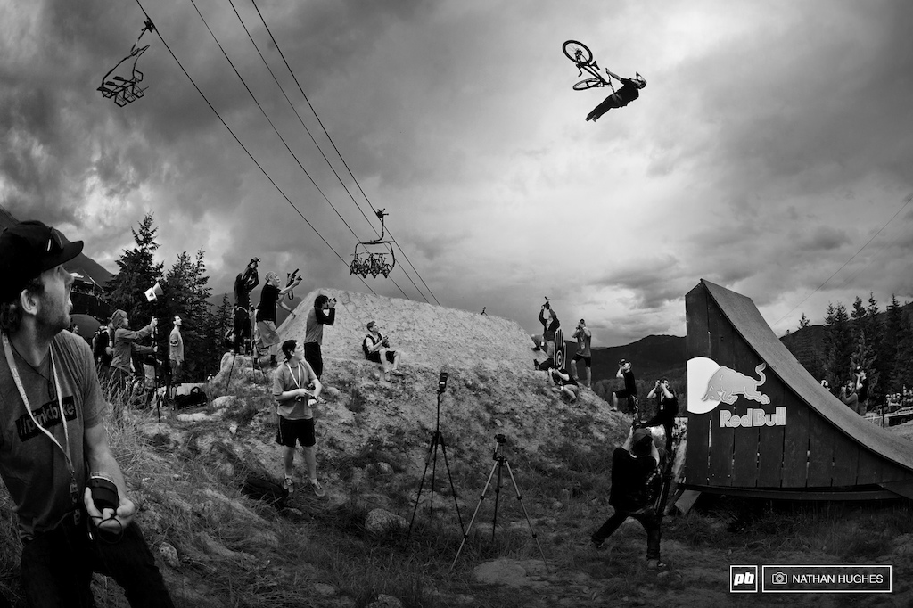 Messere remains in his own league for amplitude here flying high into another perfect lazy flip whip.
