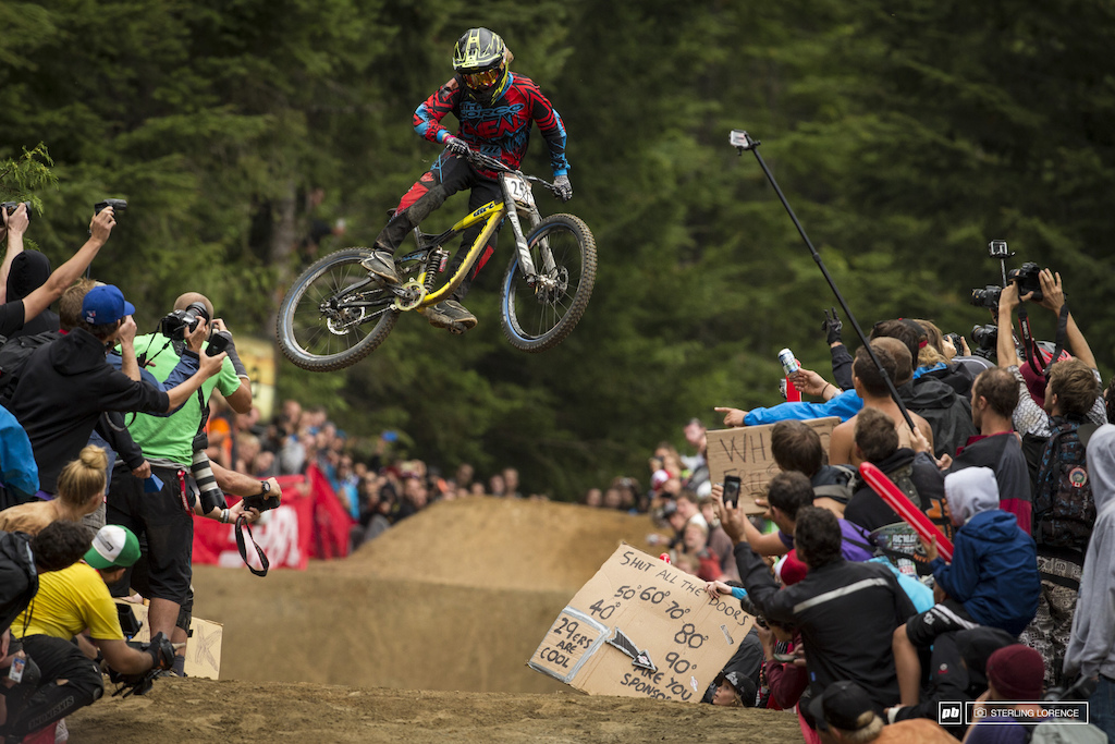 Casey brown at whip off championships crankworx 2013