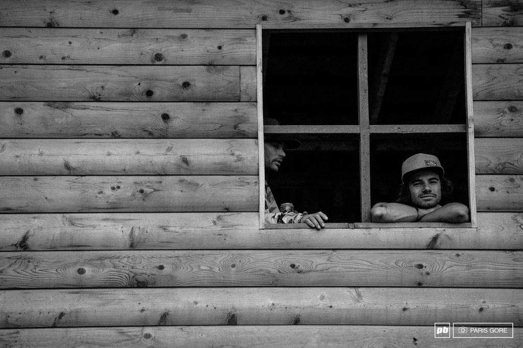 Log cabin viewpoint