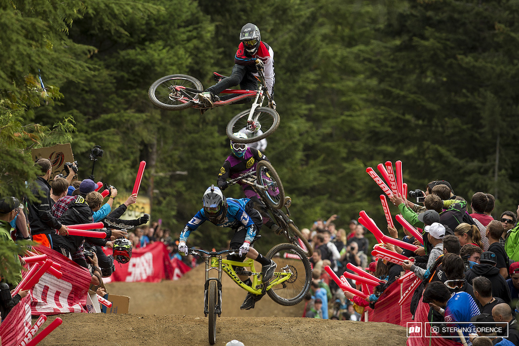 Sam Reynolds at whip off championships, crankworx 2013, whistler, bc