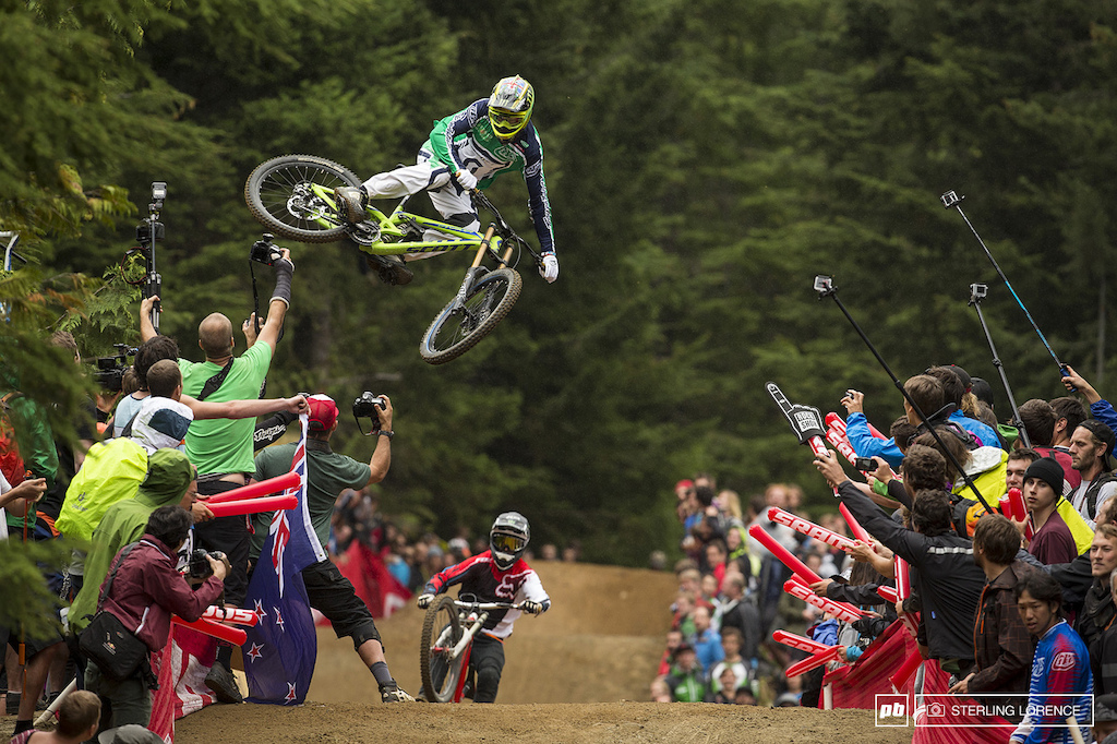 Brendan Fairclough at whip off championships, crankworx 2013, whistler, bc