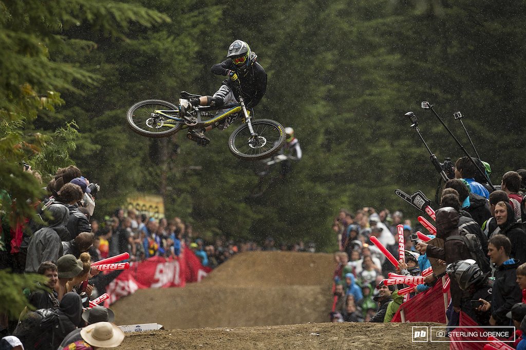 Ty McCaul at whip off championships, crankworx 2013, whistler, bc
