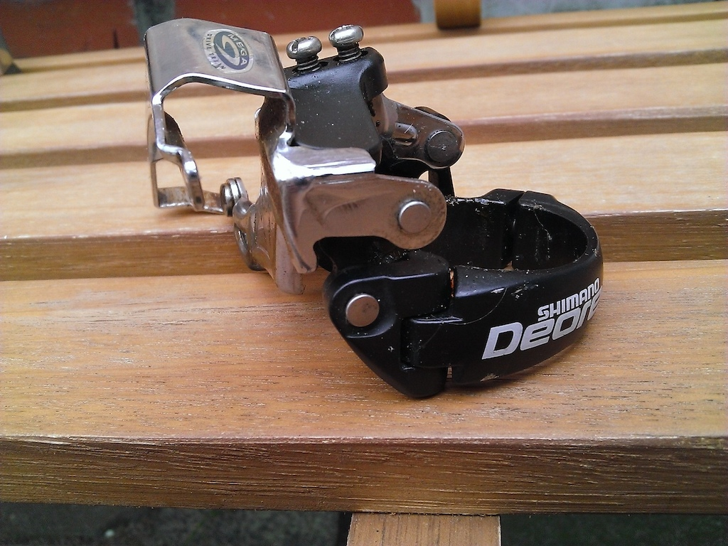 Deore front mech, 34.9 dual pull