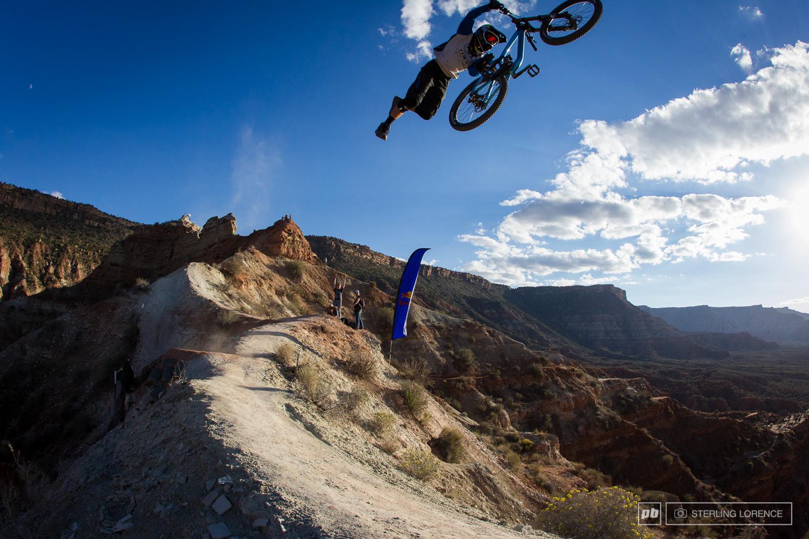 Cam McCaul 2013 RedBull Rampage in Virgin Utah