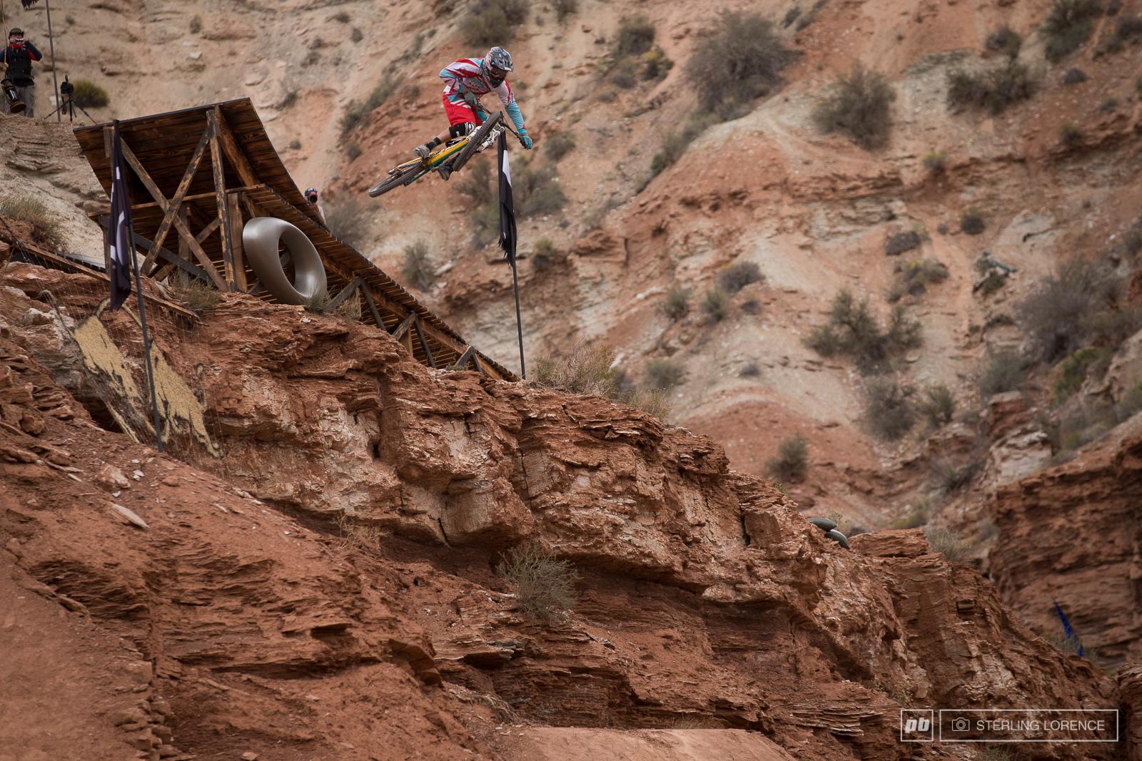 2013 RedBull Rampage in Virgin Utah