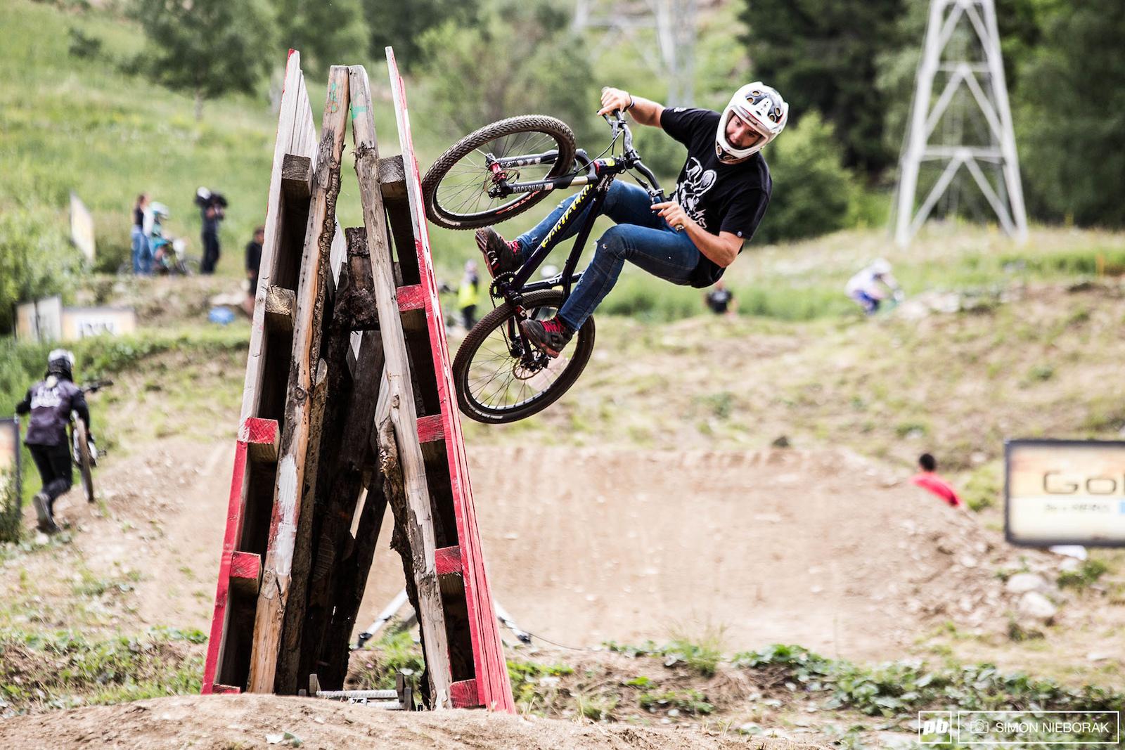 2014 Crankworx Les 2 Alpes - Speed and Style images