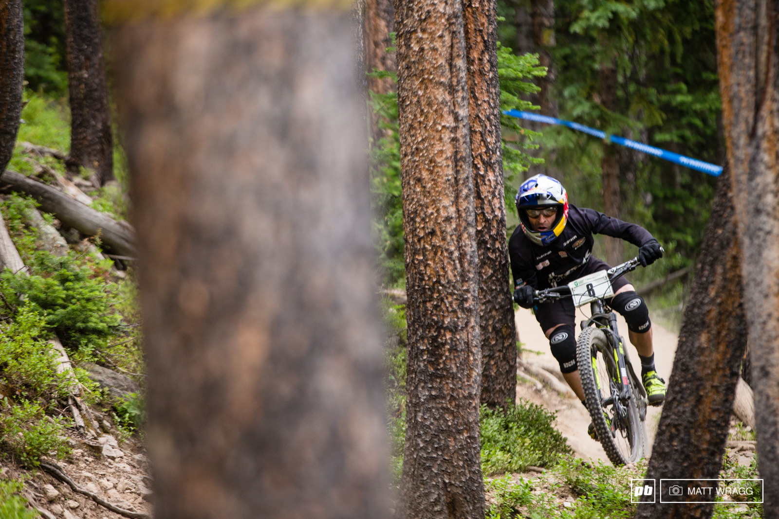 Rene Wildhaber was flying all weekend getting very close to nature at some points but keeping his speed to rack up yet another podium finish.