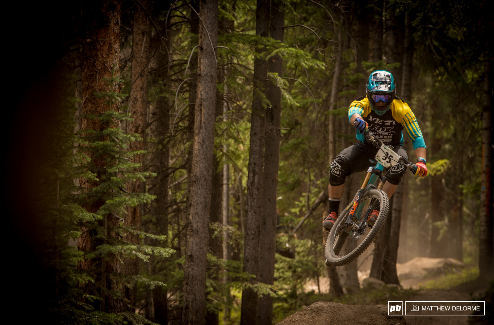 Crushingly fast. The debate whether or not Richie Rude belongs in Enduro can be put to rest. Three stage wins and second place overall. Richie Rude is just damn talented on a mountain bike.