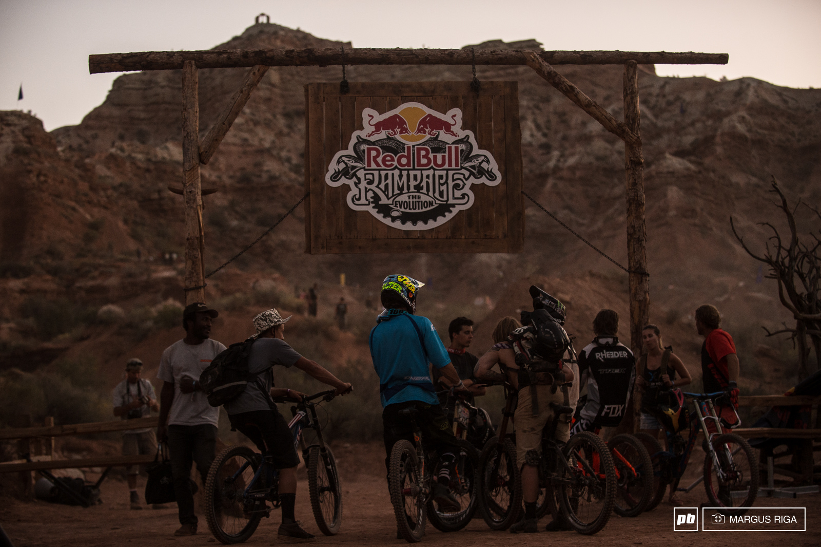 Riders at Rampage 2014