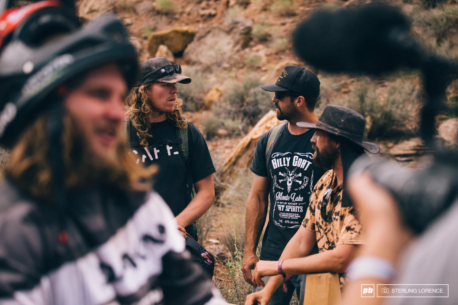 Taylor Brad and Ron make quite the team with Aggy at RedBull Rampage 2014.
