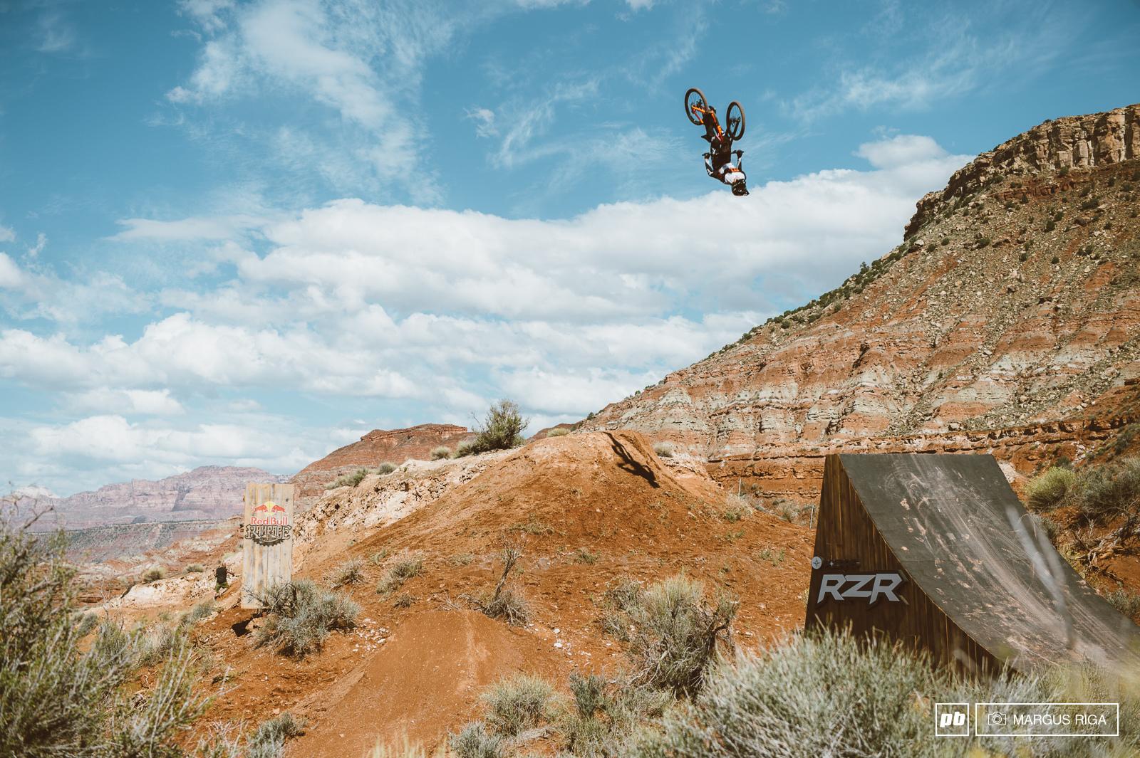 Brett Rheeder abides by the flip.