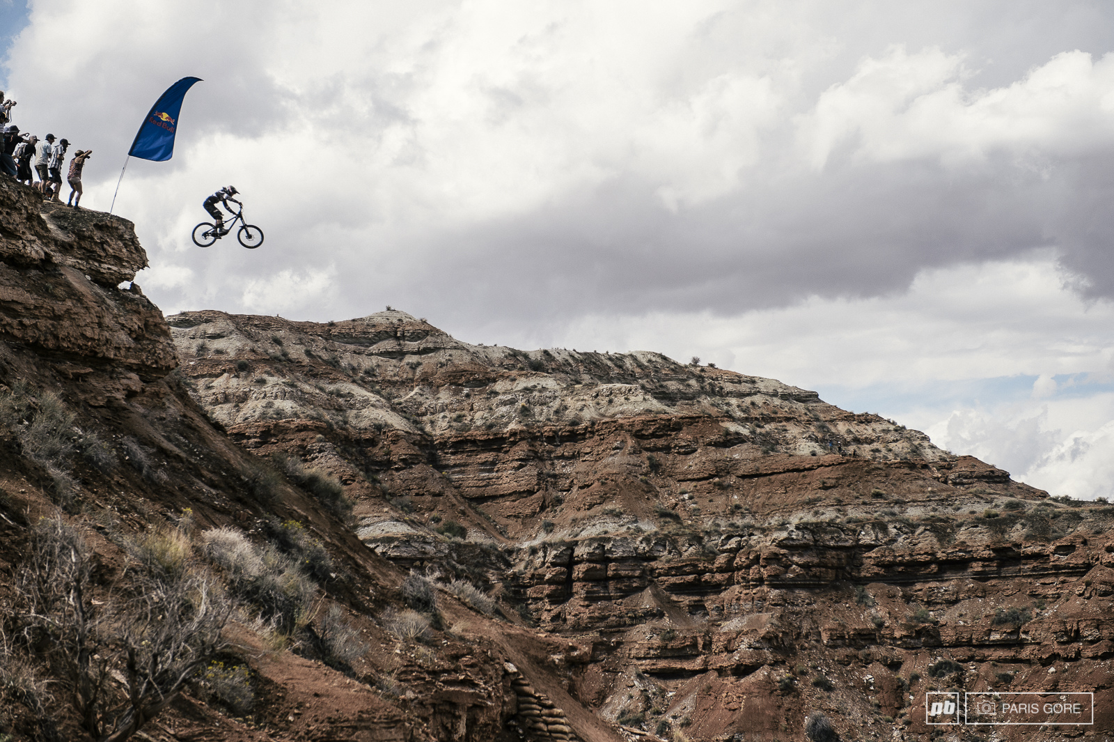 Aggy sending it during qualifying and putting down one of the most energetic runs of Rampage so far.