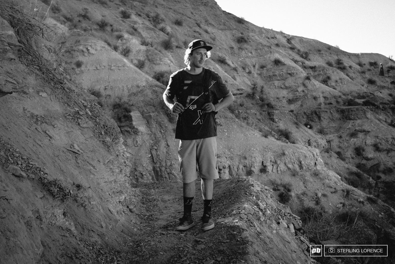 Brett Rheeder at RedBull Rampage 2014