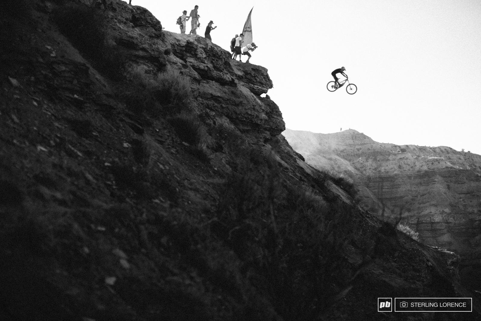 Andreu Lacondeguy at RedBull Rampage 2014