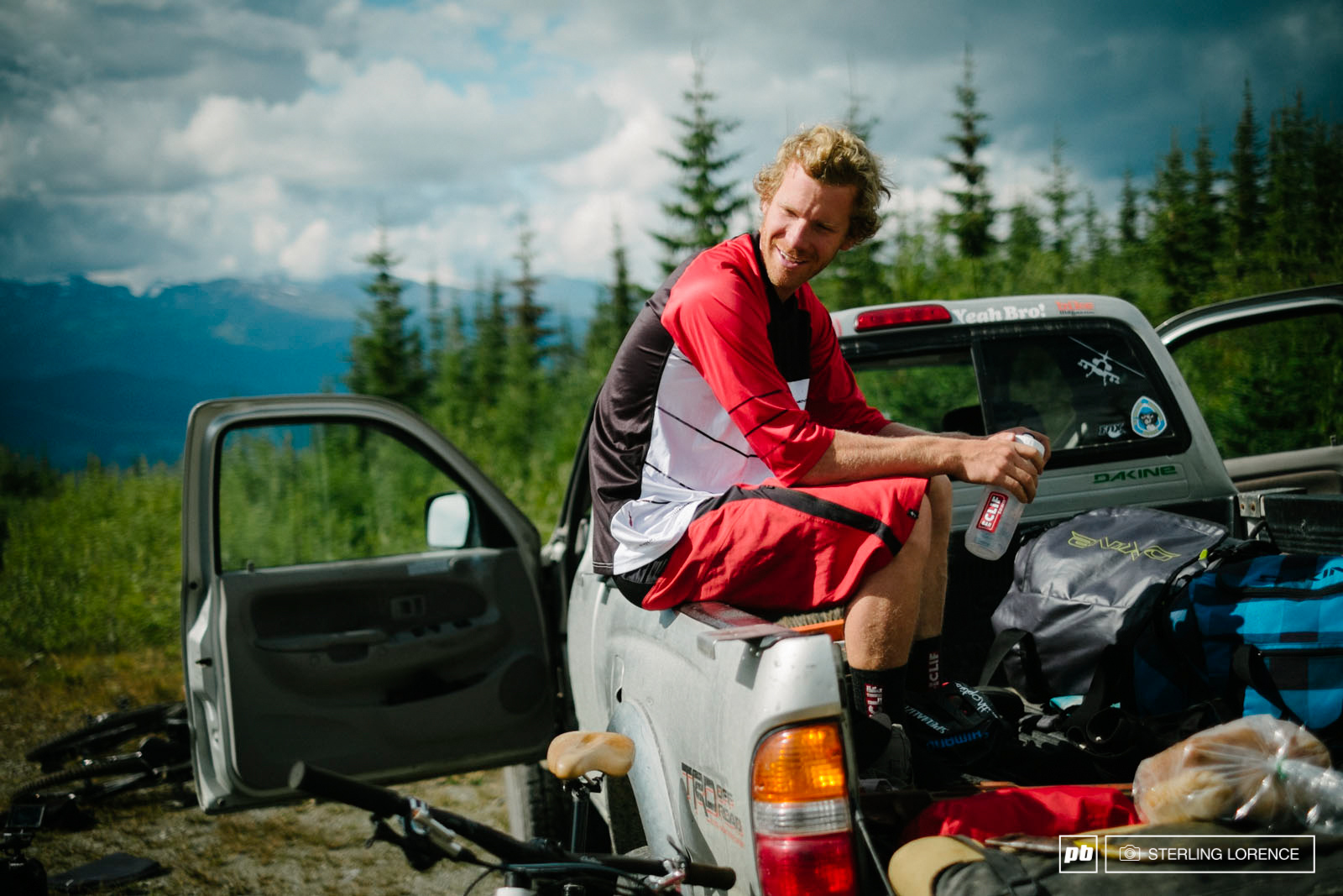 Matt Hunter in Revelstoke British Columbia Canada