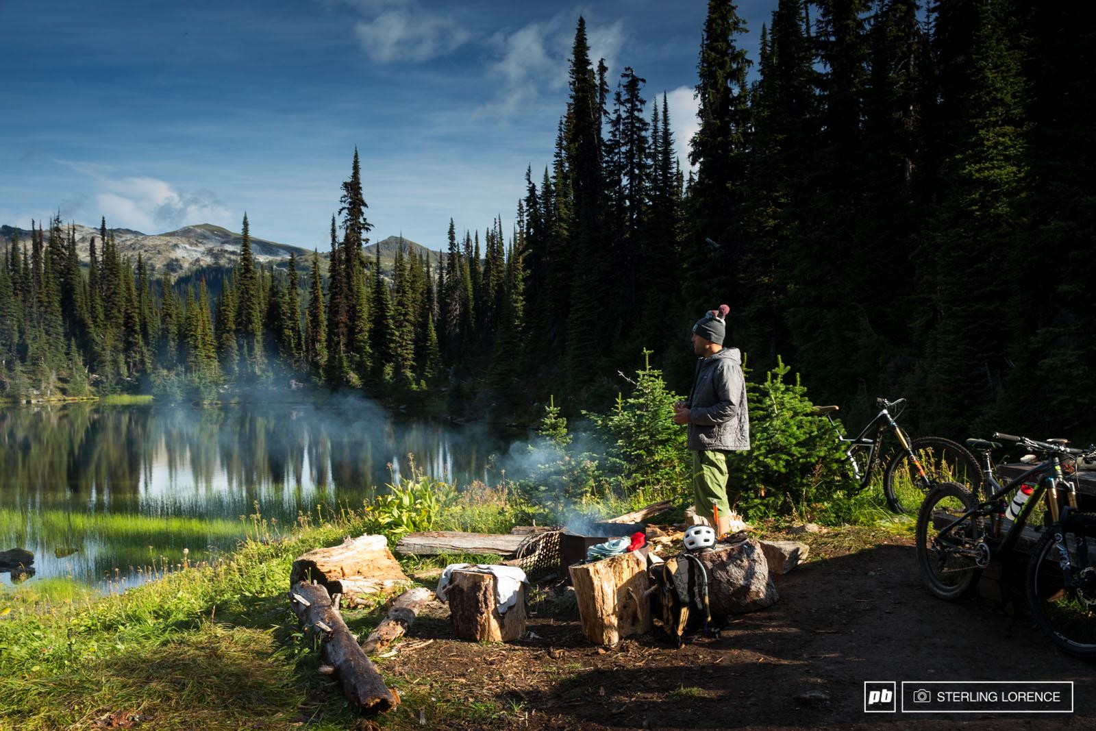 Andrew Shandro in Revelstoke British Columbia Canada