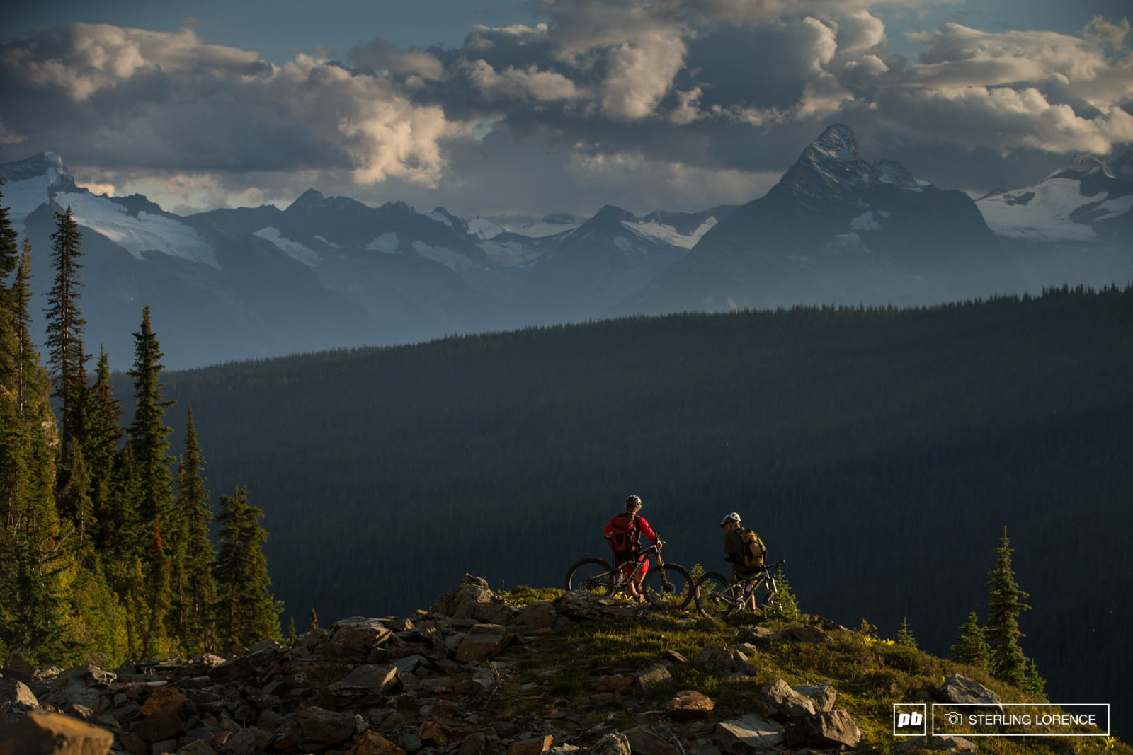 Matt Hunter and Andrew Shandro in Revelstoke British Columbia Canada