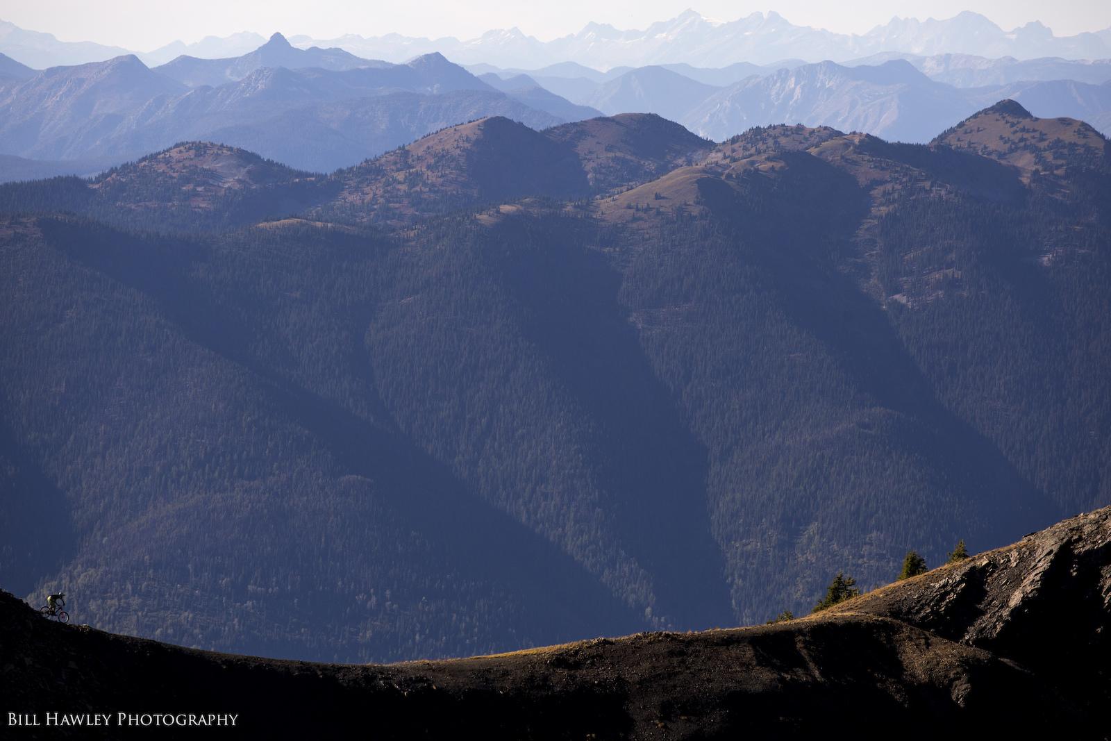 Along the ridge
