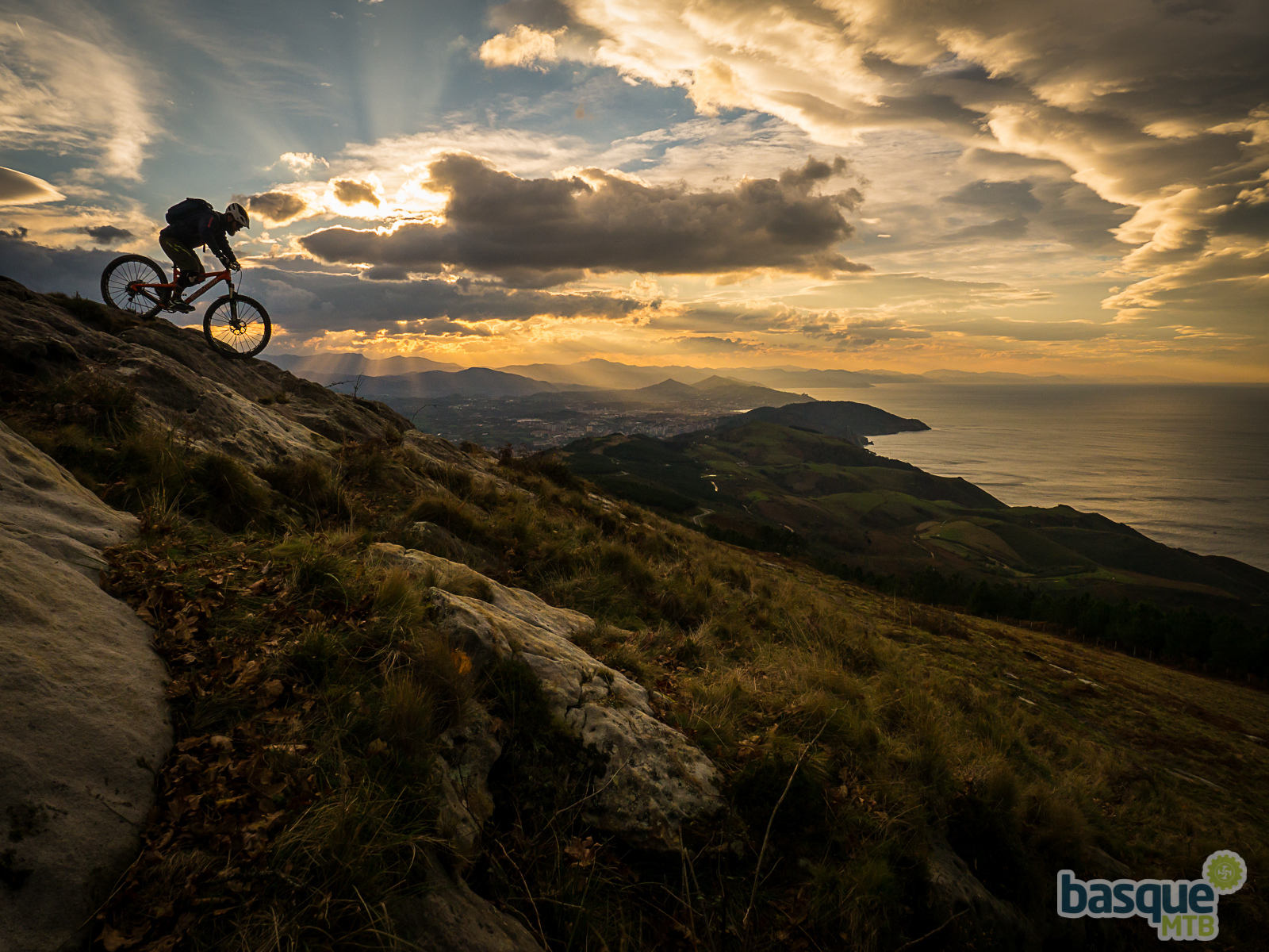 Ed loving is slacked out Santa Cruz Solo on the Basque Coast. Check that light, it was absolutely amazing.