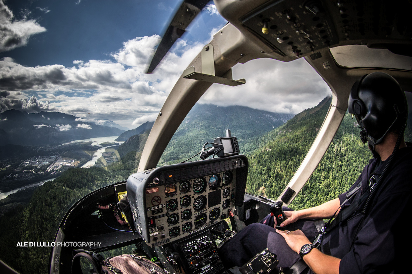 Every ride in a heli is a treat.