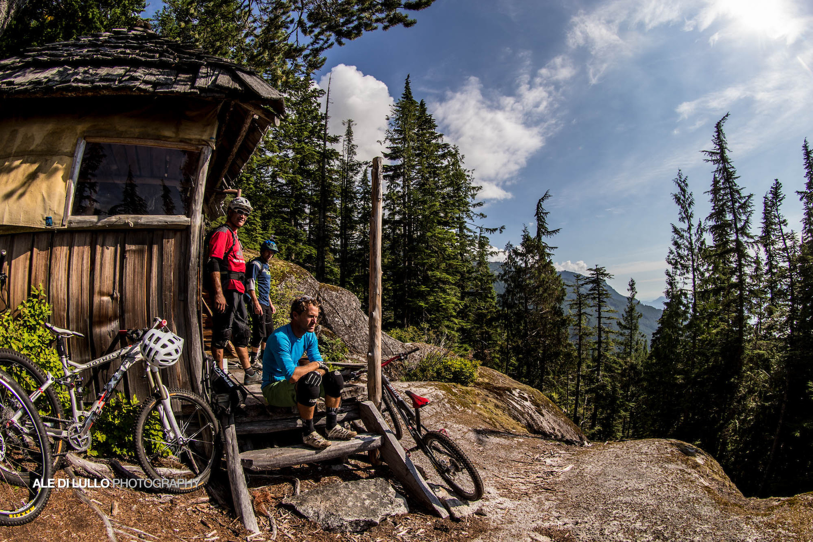 New View cabin is a must stop for a snack to look out at BC s majesty