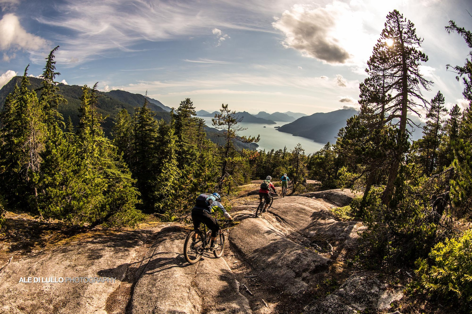 Who needs Moab when you can ride the pristine loam of BC straight into a natural granite skate park.