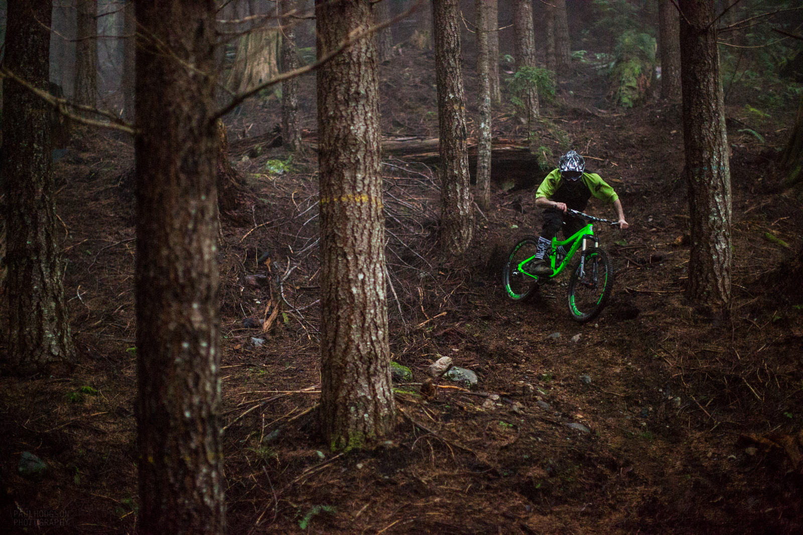 Secret trails are the best trails... Especially when they in da FOG! photo: www.phodgson.com