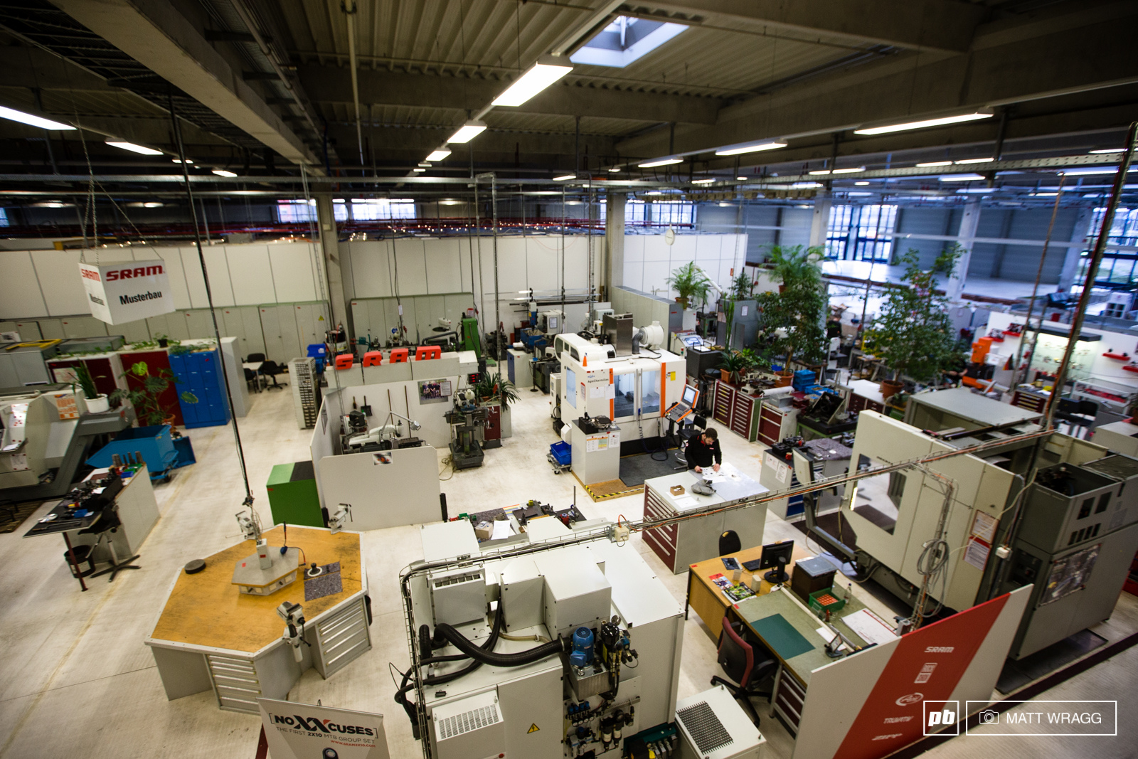 SRAM Drivetrain Development Centre Schweinfurt visit January 2015